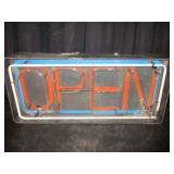 "OPEN Sign 34"" x 15"" x 65"""