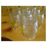 Lot of 10: Glass Cups 5""