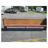 "120"" Pew Bench"