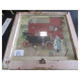 Picture Frame - Barn Life 1920s