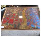 Picture Frame - Abstract Mosaic