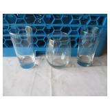 Lot of 16: Misc Glass Cups