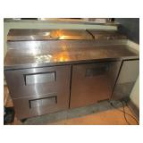 "True Refrigerated 67"" Prep Table"