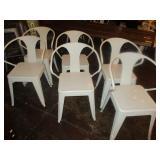Lot of 6: Outdoor Chairs