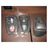 Lot of 3: Soap Dispensers