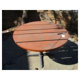 "Round Wood Table 44"" x 43"" x 30"""