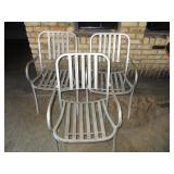 "Lot of 3: Outdoor Chairs 20"" x 33"" x 17"""