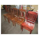 Lot of 4: Misc. Chairs