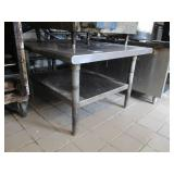 "Stainless Steel Table 30"" x 36"" x 31"""