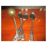Lot of 4: Misc. Serving Spoons