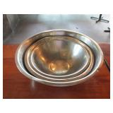 Lot of 3: Misc. Mixing Bowls
