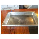 "Lot of 2: Warming Table Pans 13"" x 21"""