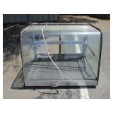 "35"" Food Display Case w/ Light"