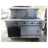 Wolf Gas Burner Range w/Griddle & Oven
