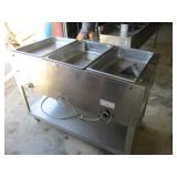 Duke 3 Wells Steamtable