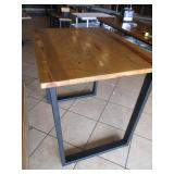 "Custom Wood Table 44"" x 34"" x 41"""