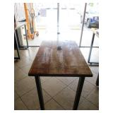 "Custom Wood Table 120"" x 25"" x 39"""