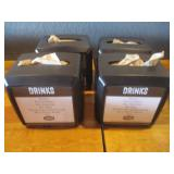 "Bid x 4: Napkin Dispensers 7.5"" x 6"""