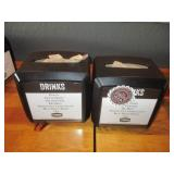 "Bid x 2: Napkin Dispensers 7.5"" x 6"""