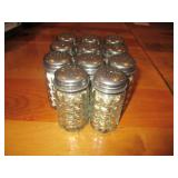 Bid x 11: Salt & Pepper Shakers
