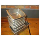 Bid x 9: Misc. SS Food Pans