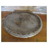 "Bid x 10: Round Perforated Baking Pans (14"")"