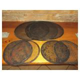 Bid x 7: Misc. Round Perforated Baking Pans