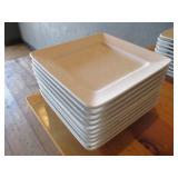 """Bid x 10: Oneida Square Plates (10"""" x 10"""")"""