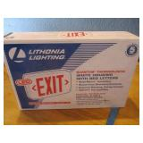 Lithonia LED Exit Sign