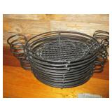 Bid x 10: Metal Serving Baskets