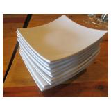 Bid x 10: Thunder Group White Plates