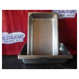 "Bid x 5: Steam Pans   21"" x 13"" x 4"""
