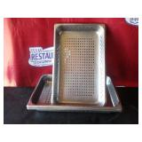 "Bid x 5: Steam Pans   21"" x 13"" x 3"""