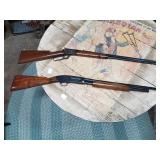 Top: Marlin 1897 Safety Made in 1897 Bottom: Winchester 42 410 made in 1933 Skeet factory restoratio