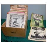 Vintage Sheet Music & Capital Records Box