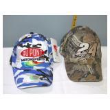 Nascar #24 Jeff Gordon New Ball Caps set of 2