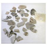 Pottery Artifacts Mancos Corrugated Before MV