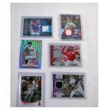 Baseball Cards Assorted Set of 6