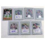 Baseball Cards Assorted set of 7
