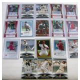 Baseball Cards Assorted 18 cards