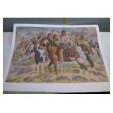 Michael Gentry Native American Print 358/1000