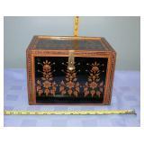 Vintage Jewelry Box With Secrete compartment
