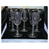 Candlewick Stemware set of 5