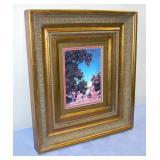 """Maxfield Parish Print 17.5"""" Tall 15.5"""" Wide Frame"""