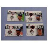 2010 Upper Deck UD Game Cards set of 4