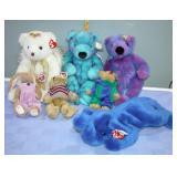 TY Bears & Elephant