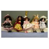 Brass Key Dolls Set of 5