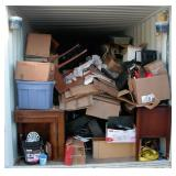 Simple Box Contents of Storage Container