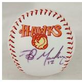 Boise Hawks autographed baseball