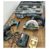 Ryobi cordless 18v one+ four tools set, works